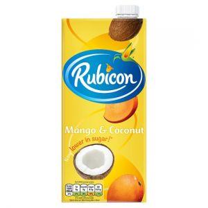 Rubicon Still Mango & Coconut Juice Drink 1 L Carton