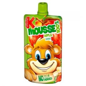 Kubus Apple & Banana Mousse 100g
