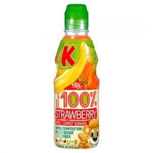 Kubus Banana & Strawberry 100% Drink 300ml