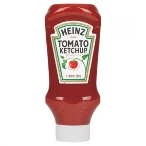 Heinz Top Down Squeezy Tomato Ketchup Sauce 910g