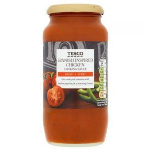 Tesco Spanish Chicken Sauce 500g