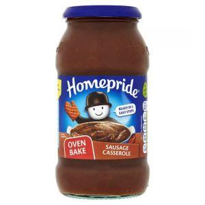 Homepride Jar Sausages Casserole Cook In Sauce 500g