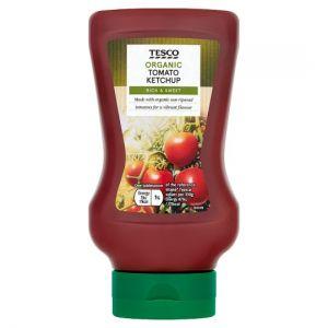 Tesco Organic Tomato Ketchup 460g