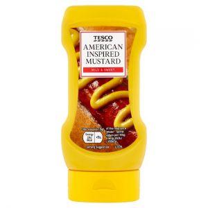 Tesco American Style Mustard 370g