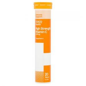 Tesco High Strength Vitamin C Effervescent 20S