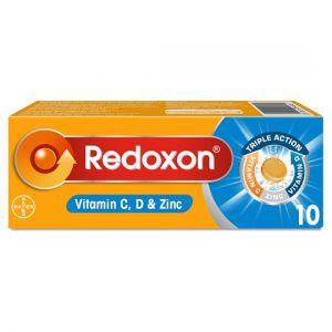 Redoxon Orange Immune Support Vitamin Tablets 10