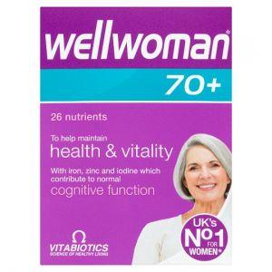 Vitabiotics Wellwoman 70+ Tablets X30