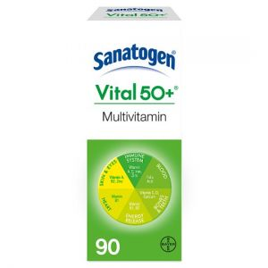 Sanatogen Vital 50+ Multi Vitamins Tablets 90S