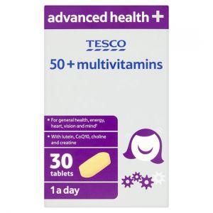 Tesco 50+ Multivitamins 30 Tablets