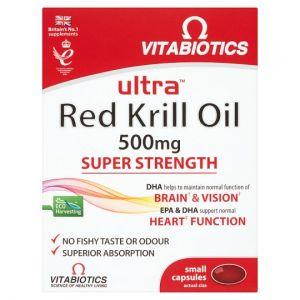 Ultra Krill Oil 500Mg Capsules X30