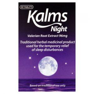 Kalms Night Tabs 50S