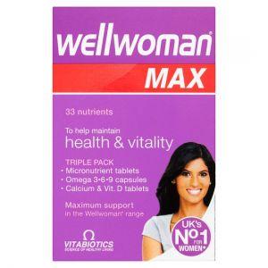 Wellwoman Max Tablets 84