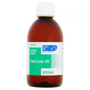 Tesco Cod Liver Oil 300ml