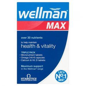 Wellman Max 84 Tablets