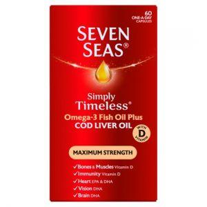 Seven Seas Cod Liver Oil Extra High Strength 60 Capsules