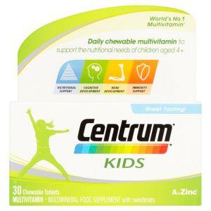 Centrum Kids Chewable Tablets X30
