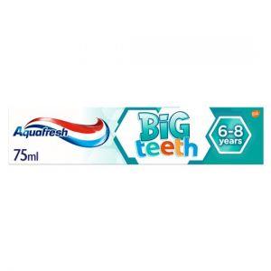 Aquafresh Big Teeth 6-8Yrs Toothpaste 75ml