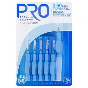 Proformula Interdental Brushes 0.60Mm 6 Pack