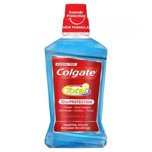 Colgate Total Advanced Peppermint Mouthwash 500ml
