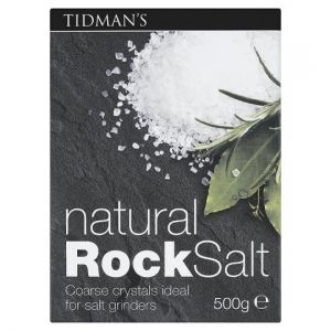 Tidmans Natural Rock Salt 500g