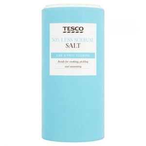 Tesco 50% Less Sodium Salt 350g