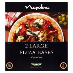 Napolina 2 Pizzeria Bases 300g