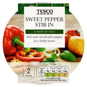 Tesco Stir In Sweet Pepper Pasta Sauce 155g