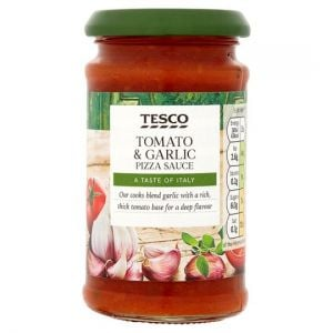 Tesco Tomato Garlic Pizza Topper 200g