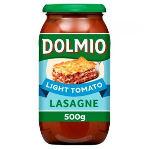 Dolmio Lasagne Red Sauce Light 500g