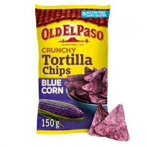 Old El Paso Blue Corn and Sea Salt Tortilla Chips 150g