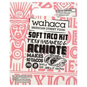 Wahaca Fiery Habanero and Achoite Soft Taco Kit 470g