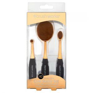 Brushworks Oval Brush Starter Set
