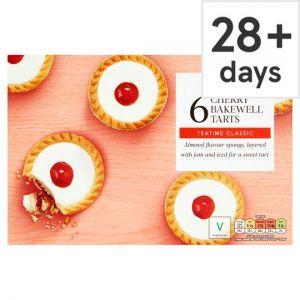 Tesco Cherry Bakewell Tarts 6 Pack