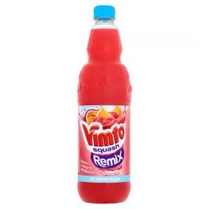 Vimto Remix Orange Raspberry Pasn/ Fruit Squash 1L