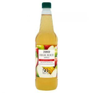 Tesco High Juice Apple Squash 1L