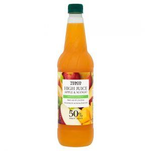 Tesco Apple & Mango High Juice 1Ltr