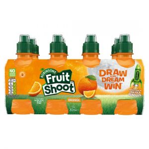 Robinsons Fruit Shoot Orange No Added Sugar 8X200ml