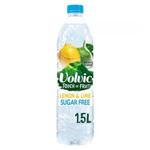 Volvic Touch Of Fruit Lemon & Lime Sugar Free 1.5L