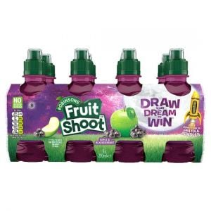 Robinsons Fruit Apple & Blackcurrant No Added Sugar 8X200ml
