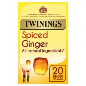 Twinings Spiced Ginger 20 Tea Bags 35g