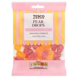 Tesco Pear Drops Sweets 200g
