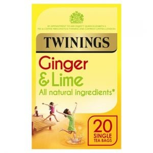 Twinings Ginger and Lime 20 Tea Bags 30g