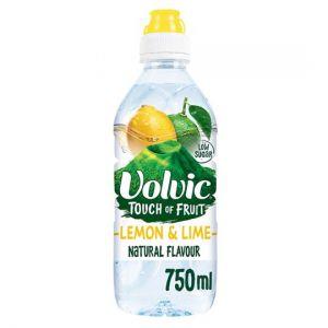 Volvic Touch Of Fruit Lemon & Lime 750ml