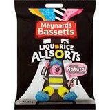 Bulk Buy 12 x 165g Maynards Bassett's Liquorice Allsorts