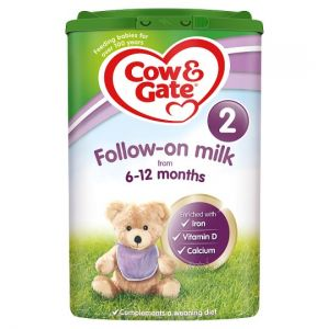 6 x Cow and Gate 2 Follow On Milk Powder For Babies 6 to 12 Months 800g - Including Delivery to China