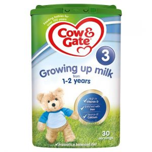 6 x Cow & Gate 3 Growing Up Milk Powder 1+Yrs 800g - Including Delivery to China