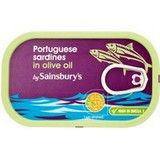 Sainsbury's Portugese Sardines in Olive Oil 120g