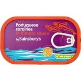 Sainsbury's Sardines in Tomato Sauce 120g
