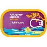 Sainsbury's Sardines in Brine 120g