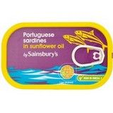 Sainsbury's Portugese Sardines in Sunflower Oil 120g
